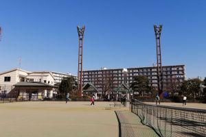 金沢区長浜公園テニスコート