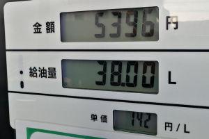 休日でリッター2円 安く