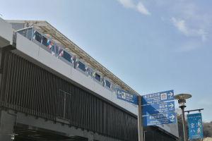 シーサイドライン八景駅の北側にある2番線ホーム