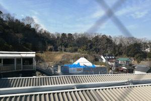 整備中の金沢八景権現山公園