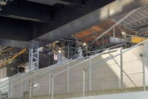 八景駅品川方階段が1月30日~使用開始