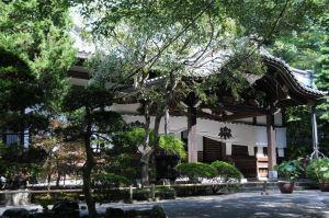 鎌倉大町「妙本寺」本堂