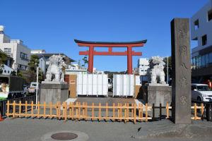 鎌倉鶴岡八幡宮 段葛整備工事