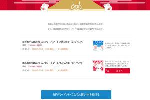 ヨドバシ.com お年玉箱スマホ発送