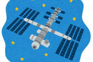昨夜の宇宙ステーション「きぼう」