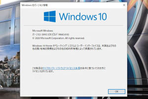 Win10 2020 update Ver.20H2