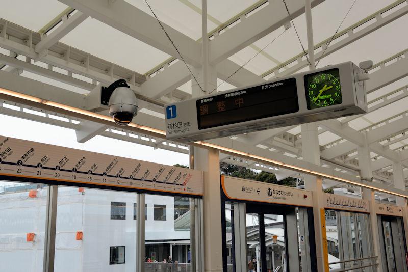 八景駅ホーム南側の1番線の供用が 開始