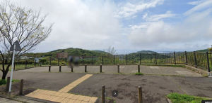 湘南国際村で富士山がよく見える